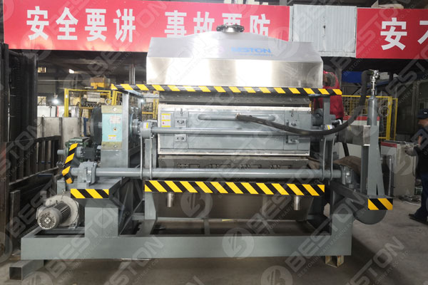 Egg Tray Manufacturing Machine Shipped to Mozambique