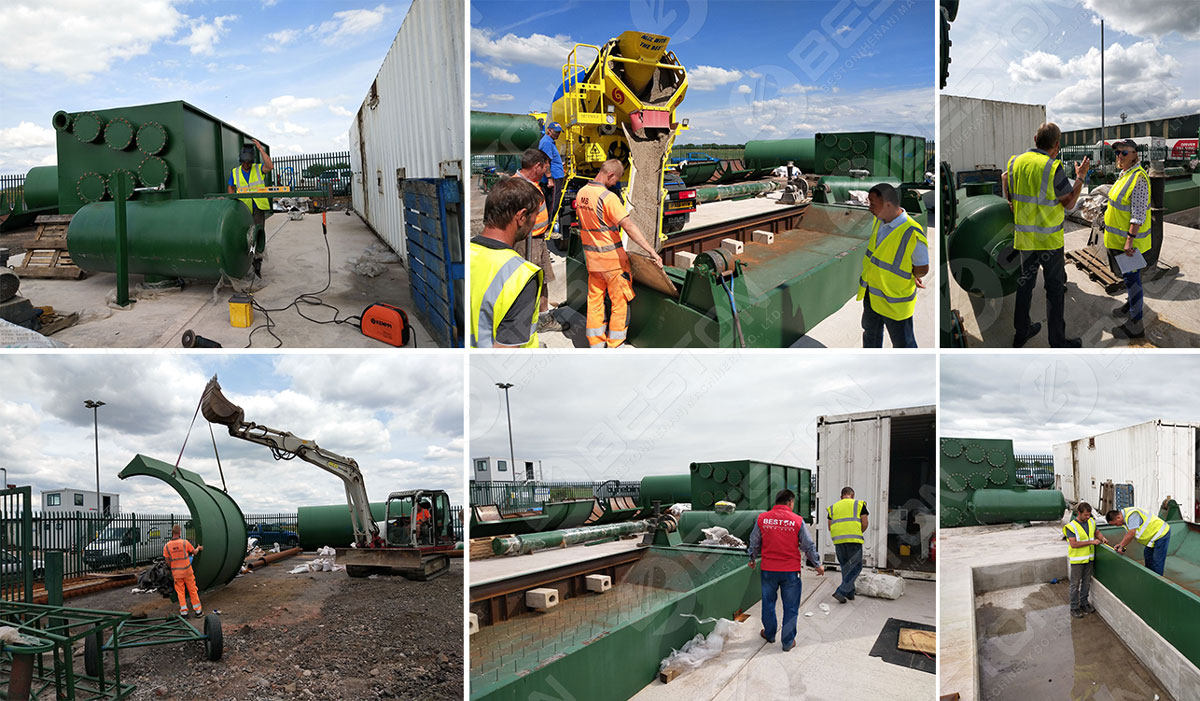 Installment of Tyre Pyrolyis Plant in UK