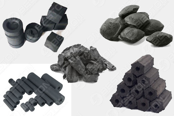 Use Charcoal Briquette Machine to Make Different Charcoal Shapes