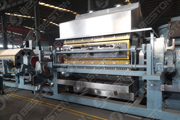 BTF6-8 Tam Otomatik Kağıt Yumurta Tepsisi Makinası