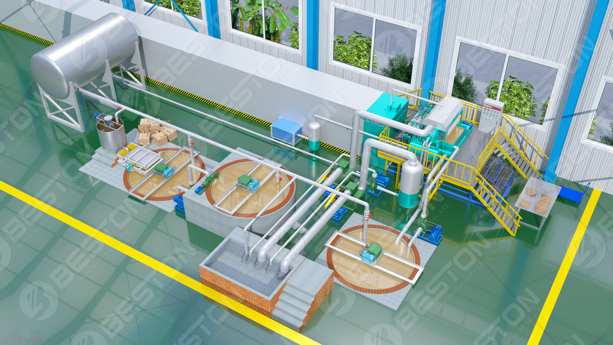 Beston Ægbakkefremstillingsmaskine 3D