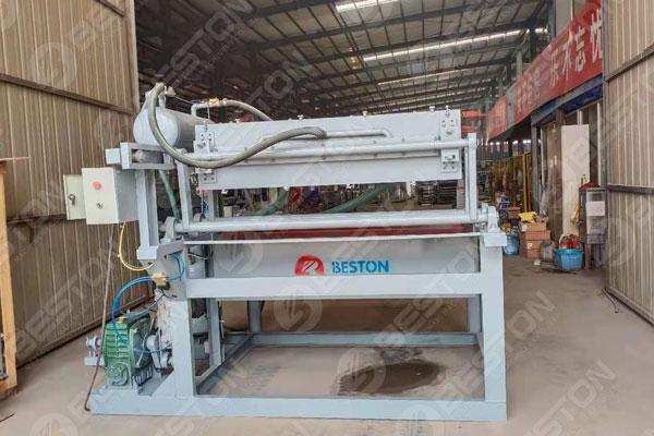 Beston Egg Tray Making Machine Delivered to Bolivia