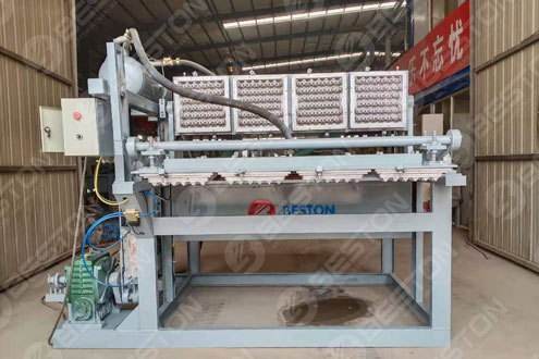 Beston 鸡蛋托盘制造机运往玻利维亚