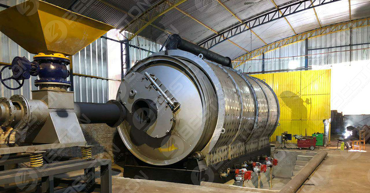 Beston Tyre Pyrolysis Plant Project Report