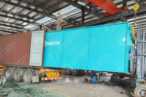 Delivery of Pyrolysis Plant Sold to Saudi Arabia