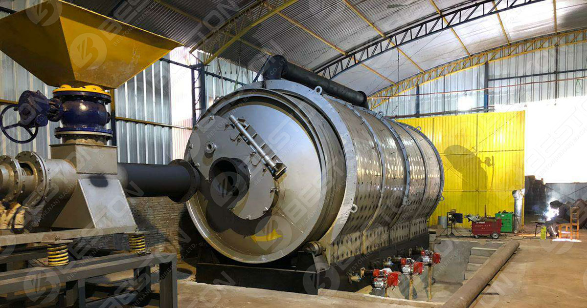 Get Tyre Pyrolysis Plant Project Report from Beston