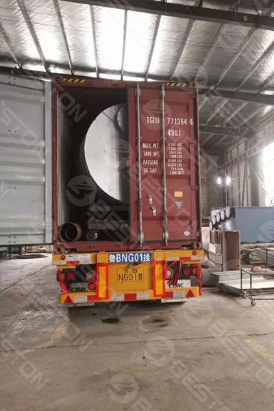 Pyrolysis Reactor Shipped to Saudi Arabia