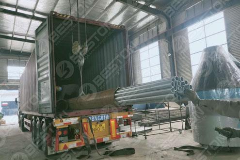 Shipment of Pyrolysis Equipment Sold to Saudi Arabia