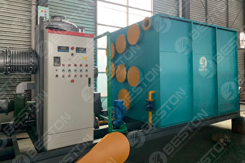 BLJ-3 Skid Mount Pyrolysis Plant Shipped to Paraguay