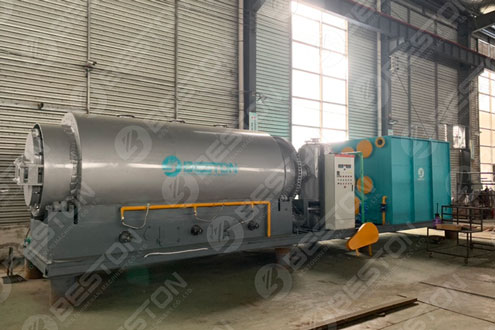 BLJ-3 Skid-mounted Pyrolysis Plant Shipped to Paraguay