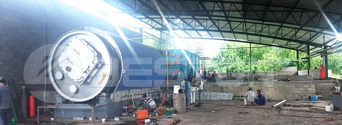 Beston Pyrolysis Plant Installed in Zimbabwe