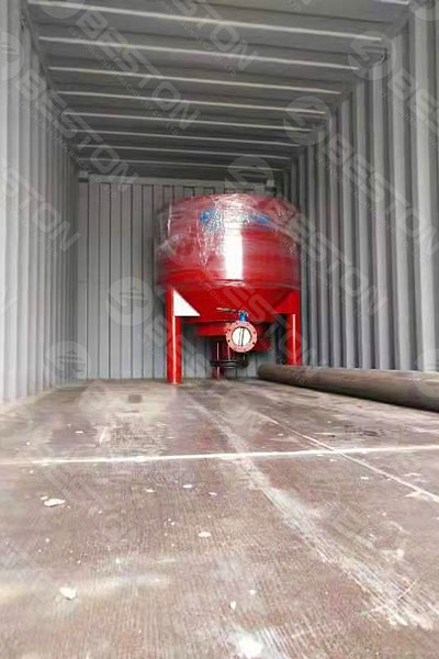 Delivery of Pulping System