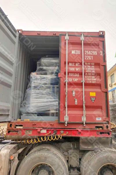 Shipment of Beston Pulp Egg Tray Machine to Bolivia