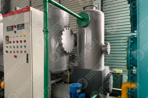 Skid-mounted Pyrolysis Equipment Shipped to Paraguay
