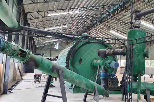 BLJ-16 Beston Tyre Pyrolysis Plant in the Philippines