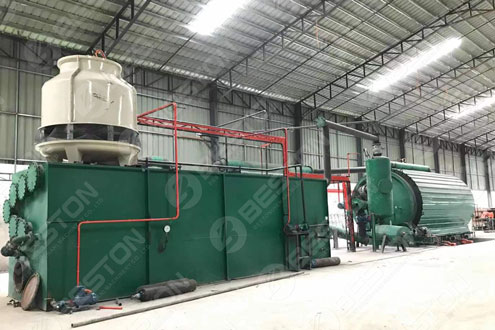 BLJ-16 Tyre Pyrolysis Plant in the Philippines