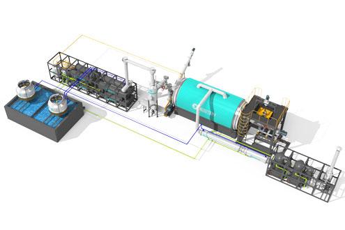 BLL-16 Beston Continuous Pyrolysis Machine