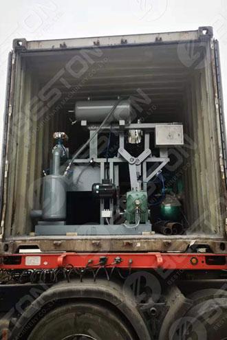 BTF1-3 Beston Egg Tray Machine Shipped to Zambia