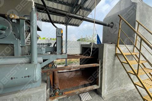 BTF3-4 Egg Tray Making Machine Installed in India