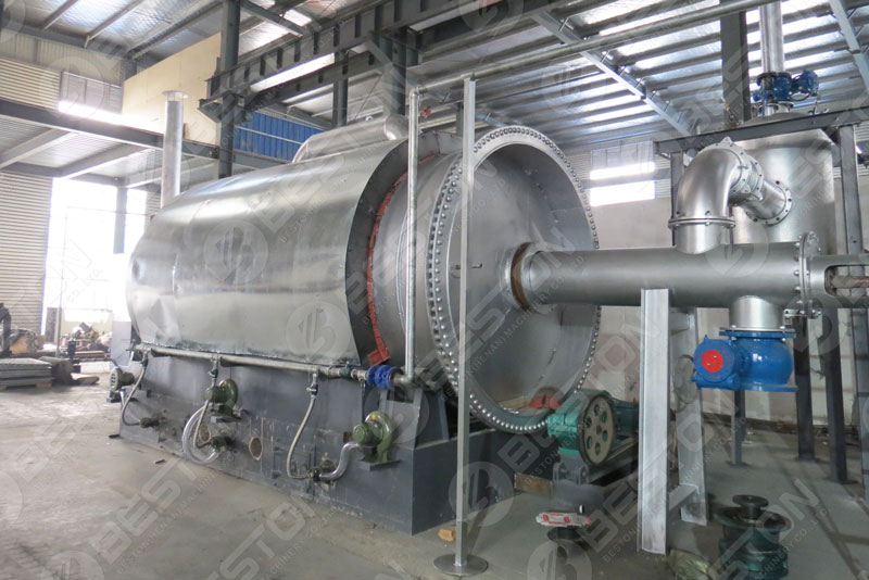 Beston Batch Pyrolysis Machine for Sale with Capacity 6-10 TD