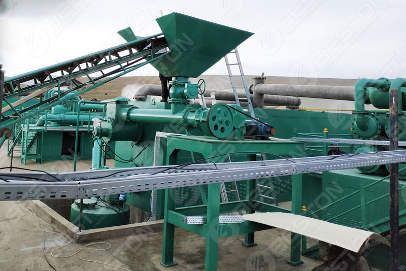 Beston Continuous Pyrolysis Equipment for Sale with 16-24 TD