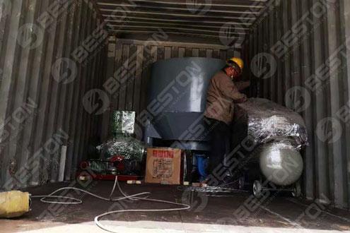 Beston Egg Tray Machine Shipped to Lesotho