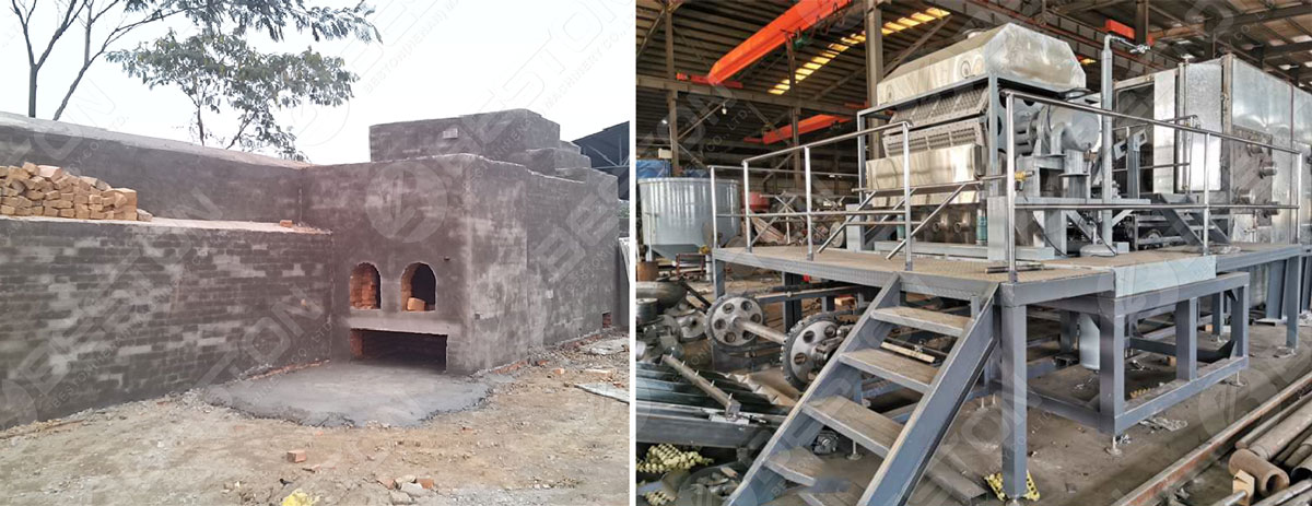 Beston Paper Egg Tray Drying Systems