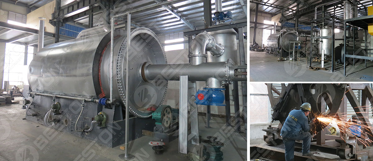 Beston Small Pyrolysis Plant for Sale