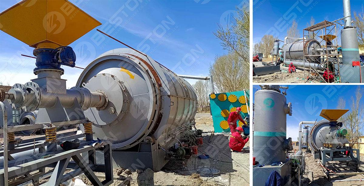 Beston Waste Pyrolysis Plant Project