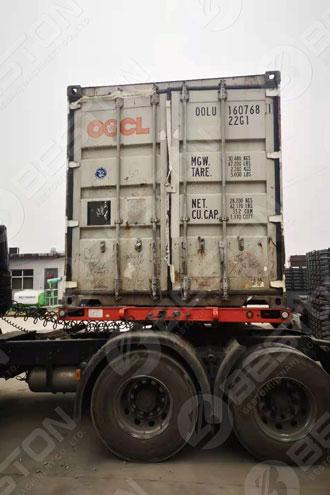 Egg Tray Making Equipment Shipped to Zambia