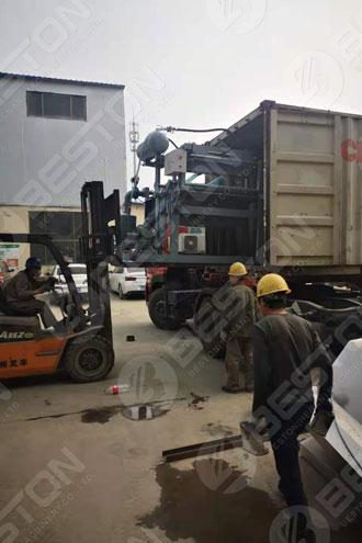 Egg Tray Making Machine Shipped to Zambia
