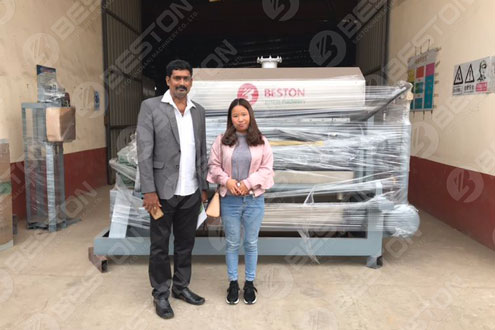 Egg Trays Manufacturing Machines Shipped to India