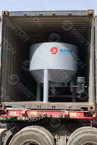 Paper Pulping Machine Shipped to Lesotho