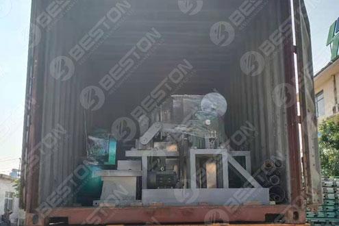 Beston Egg Tray Making Machine Shipped to Mali
