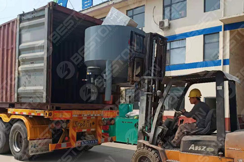 Beston Egg Tray Manufacturing Machine Shipped to Mali