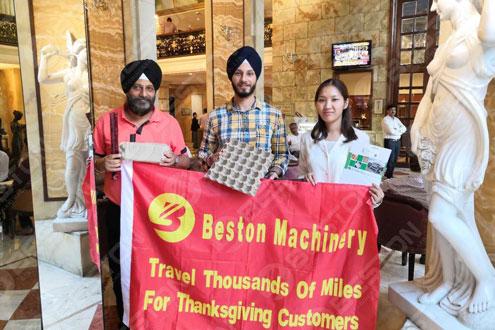 Beston Visit in India