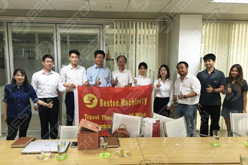 Beston Visit OT Thailand