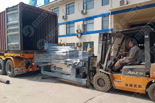 Egg Tray Equipment Shipped to Mali