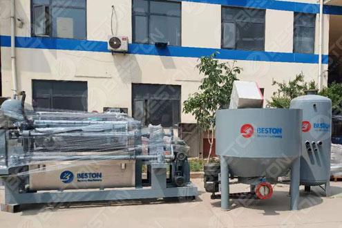 Paper Egg Tray Making Machine Shipped to Mali