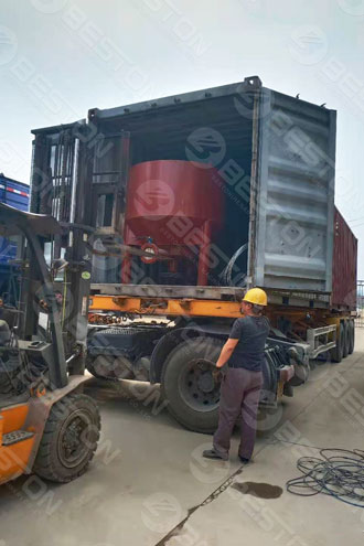 Pulping Machine Shipped to Chile