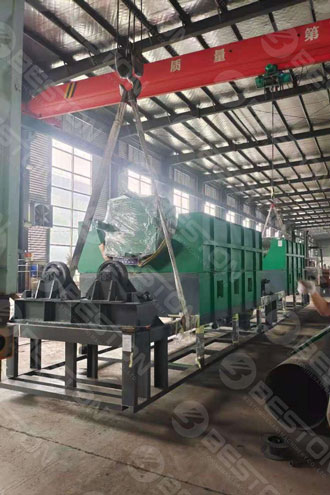 Coffee Husk Carbonizing Equipment Shipped to Cameroon