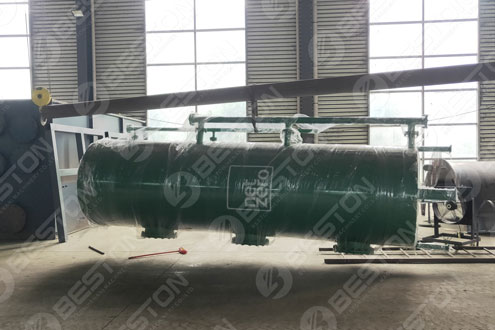 Coffee Husk Carbonizing Machine Shipped to Cameroon