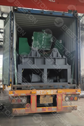 Coffee Husk Charcoal Equipment Shipped to Cameroon