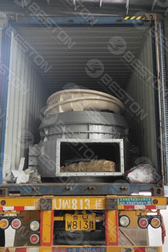 Coffee Husk Charcoal Making Machine Shipped to Cameroon