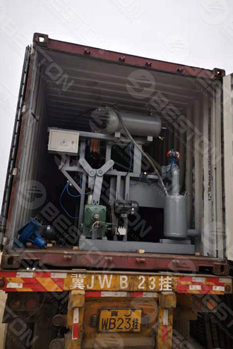 Delivery of Beston Egg Tray Making Machine to Sudan