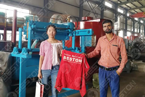 Get Paper Egg Tray Machine Price in India from Beston