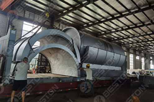 Reactor and Reactor was Shipped to Spain
