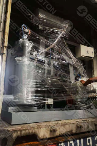 Small Egg Tray Making Machine Shipped to America