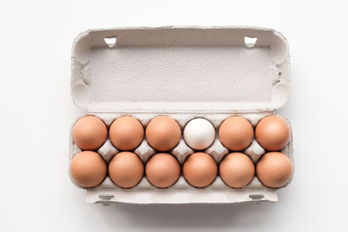 Ящик для яиц, 12 упаковок
