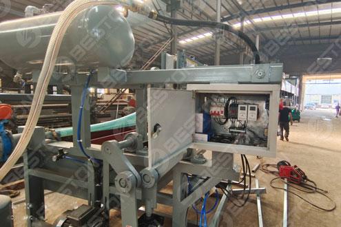 Машина для изготовления лотков для яиц BTF1-4 отправлена в Бурунди